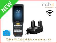 Zebra MC2200 Mobile Computer and Cradle, Camera | info@mobit.ch, ☎ +41 44 800 16 30