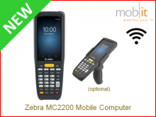 Zebra MC2200 Mobile Computer | info@mobit.ch, ☎ +41 44 800 16 30
