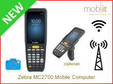 Zebra MC2700 Mobile Computer,Camera | info@mobit.ch, ☎ +41 44 800 16 30