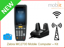 Zebra MC2700 Mobile Computer and Cradle,Camera | info@mobit.ch, ☎ +41 44 800 16 30