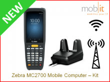 Zebra MC2700 Mobile Computer and Cradle | info@mobit.ch, ☎ +41 44 800 16 30