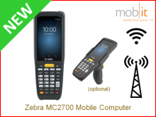 Zebra MC2700 Mobile Computer | info@mobit.ch, ☎ +41 44 800 16 30