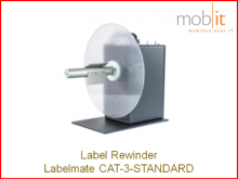 Labelmate Rewinder for Label Printers | ☎ 044 800 16 30 | info@mobit.ch
