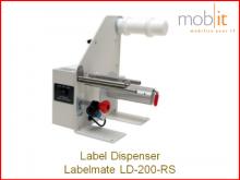 Labelmate Dispenser for Label Printers | ☎ 044 800 16 30, info@mobit.ch
