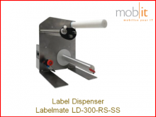 Labelmate Dispenser for Label Printers | ☎ 044 800 16 30, ★ info@mobit.ch