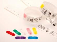Clip de fermeture bleu, pour bracelet patient QuickClip