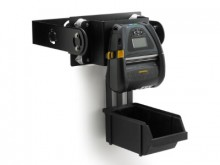 ZQ630 Mobile Mount Kit with U-Arm Bracket and Fanfold Bin