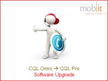 Upgrade de CQL-Omni à CQL-Pro pour imprimantes QL