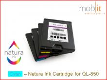 Cartouche d'encre Cyan pour imprimante d'étiquettes QL-850