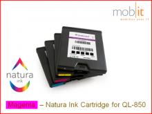 Cartouche d'encre Magenta pour imprimante étiquettes QL-850