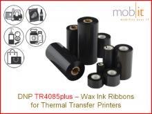 Wax Ribbon TR4085plus - 152 mm x 450 m, 10 rolls/box