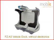 Toughbook FZ-A3 Tablet Vehicle Docking sans electronics