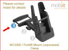 MC3300 Forklift Clamp, pince de connexion