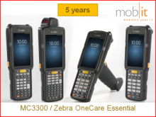 MC3300 - 5 Ans Zebra OneCare Essential