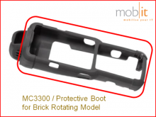 MC3300 Protective Boot for Brick Rotating Model
