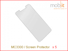 MC3300 Tempered Glass Screen Protector, 5 x