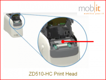 Printhead for ZD510