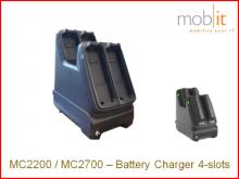 Zebra MC2200/MC2700 Station de recharge pour piles, 4-baies