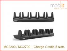 Zebra MC2200/MC2700 Station de base à 5-baies