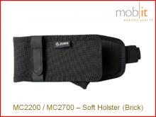 Zebra MC2200/MC2700 Soft Holster, avec clip de ceinture