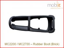 Zebra MC2200/MC2700 Protecteur en caoutchouc, sans poignée