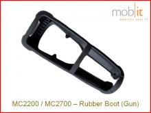 Zebra MC2200/MC2700 Protecteur en caoutchouc, avec poignée