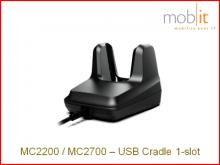 Zebra MC2200/MC2700 Station de base à 1-baie
