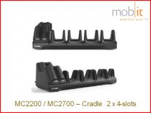 MC2200/MC2700 Station de base pour 4 terminaux et 4 piles