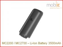 Zebra MC2200/MC2700 Batterie Li-Ion 3500mAh
