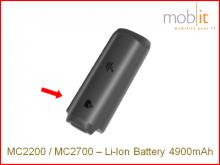 Zebra MC2200/MC2700 Batterie Li-Ion 4900mAh
