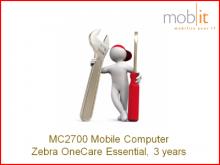 Zebra MC2700 OneCare Essential, 3 ans
