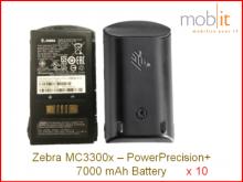 MC3300x PowerPrecision+ Batterie, High Cap, 7000mAh, 10x