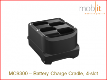Station de recharge pour battéries MC9300, 4 slots