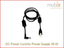 Câble DC, pour source d'alimentation Zebra 50W, 1,8 m