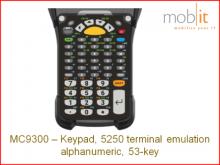 Clavier MC9300, 5250 terminal emulation alphanumeric, 53-key