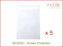 Protecteur d'écran pour Zebra MC9300, 5 pièces