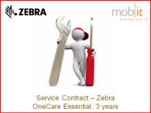 LI4278 - 3 AnnéeYear Zebra OneCare Essential